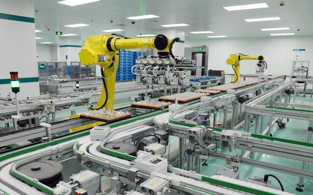 Automated Assembly Line Alternative to Manual Assembly Line